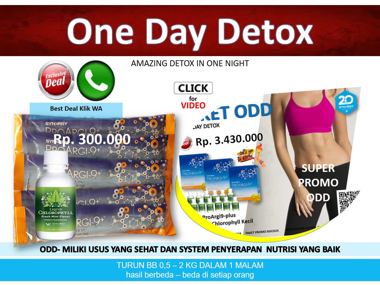 AMAZING - One Day Detox