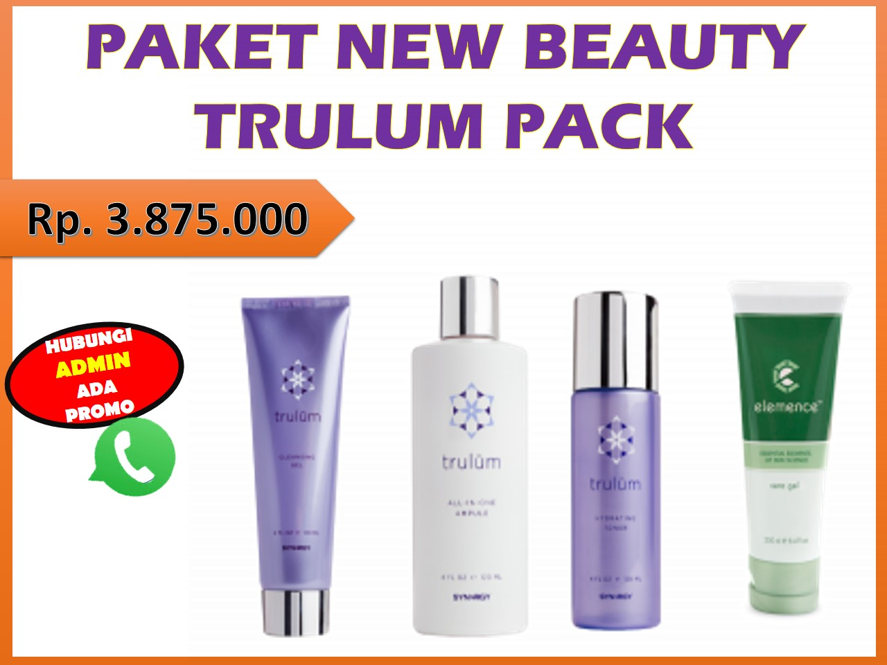 PAKET NEW BEAUTY TRULUM PACK